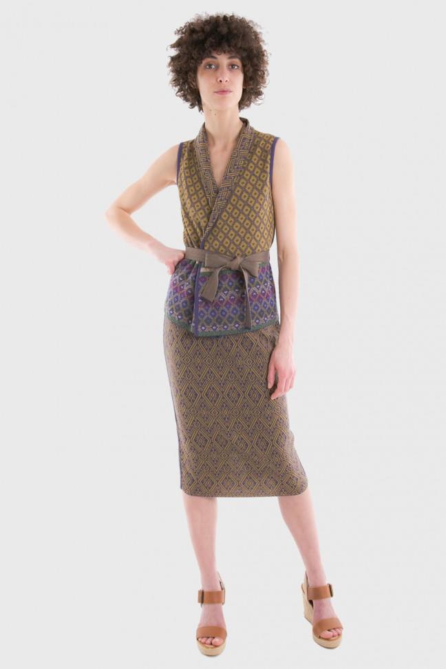 Skirt SAMOA Gold