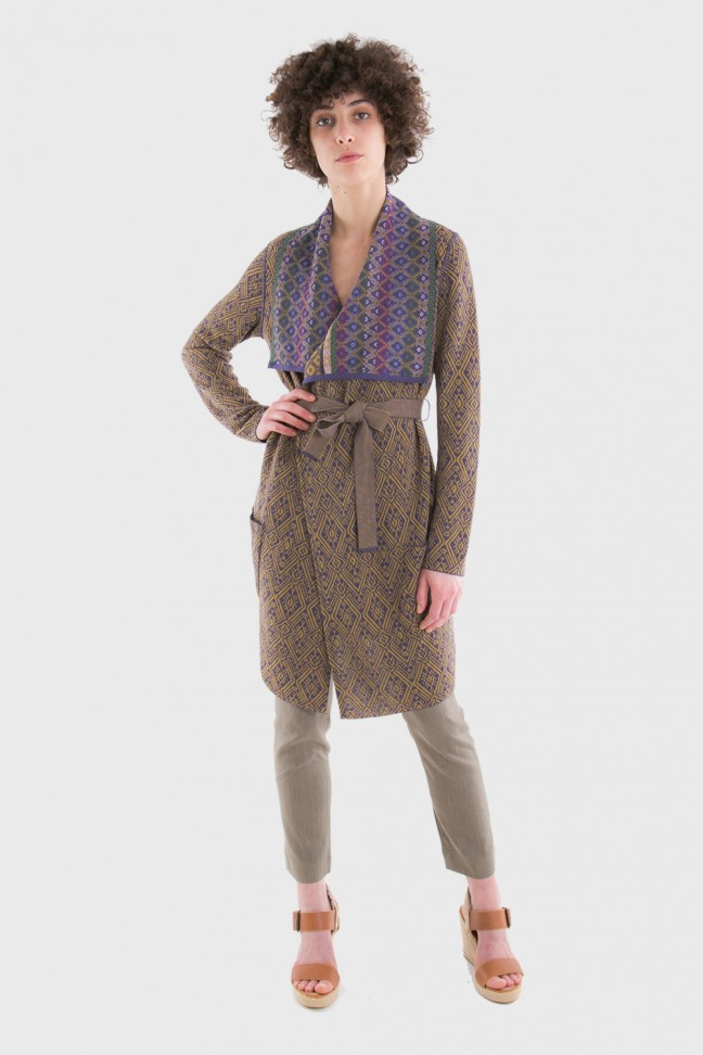 Open coat SAMOA Gold
