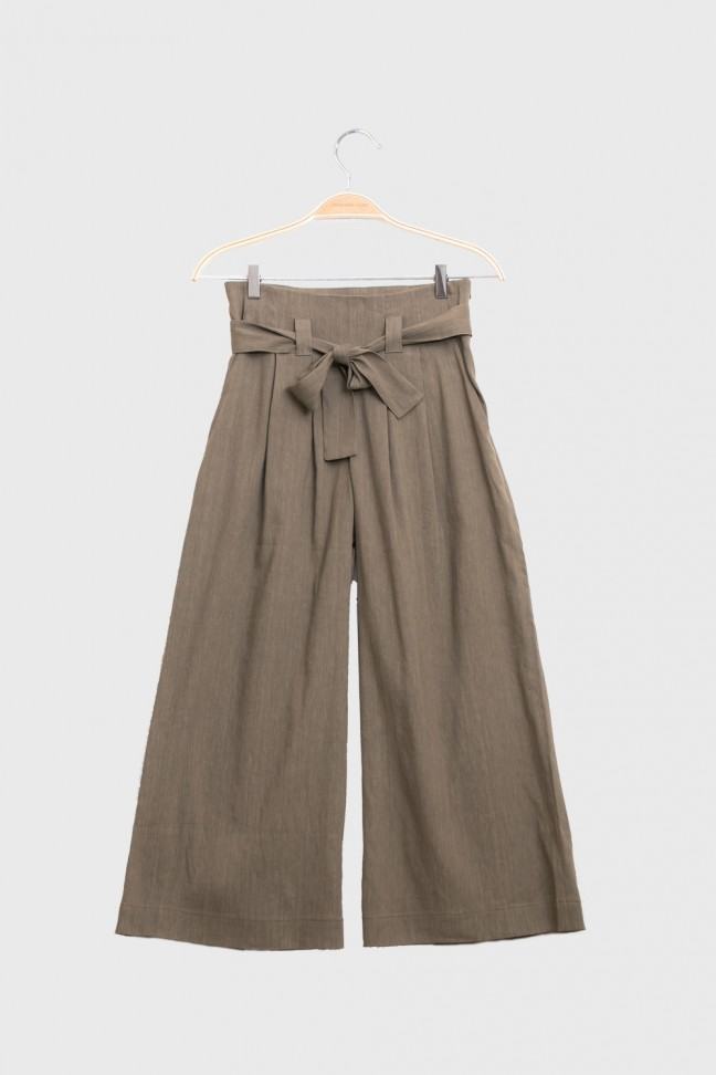Cropped Pants LINUM Sand