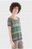Tshirt LUCIOLE Vert