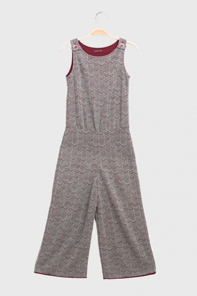 Jumpsuit RENEE Burgundy