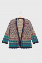 open cardigan HULA Blue