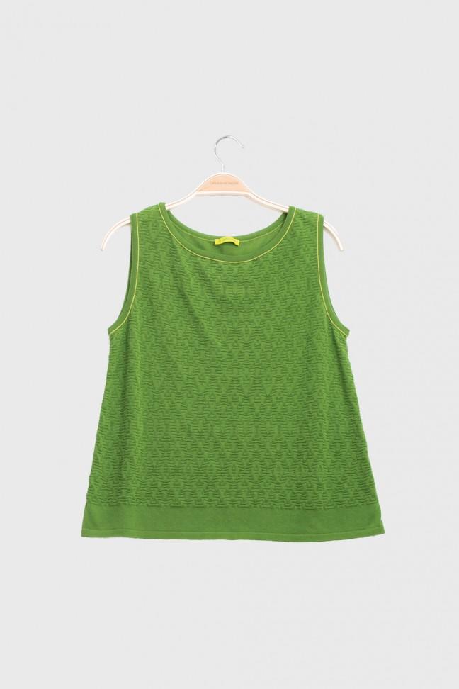 Tank top MELLOW Green