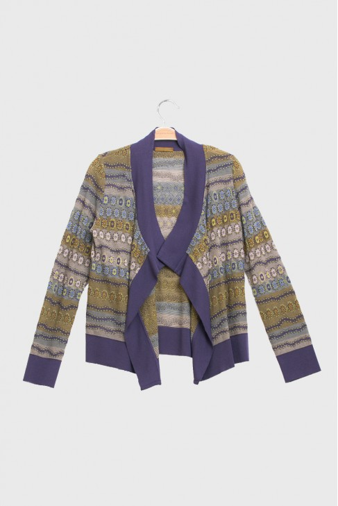Open Cardigan LUCIOLE Gold