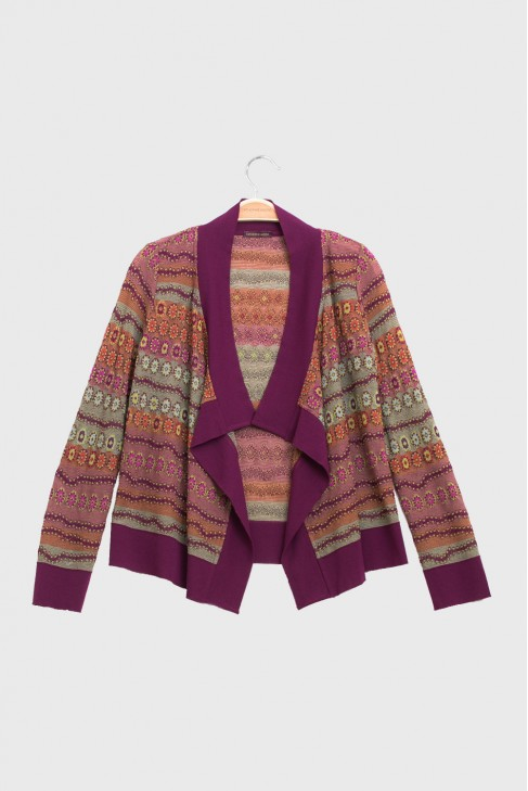 Open Cardigan LUCIOLE Fire