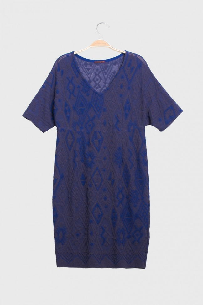 Dress TAPA Blue