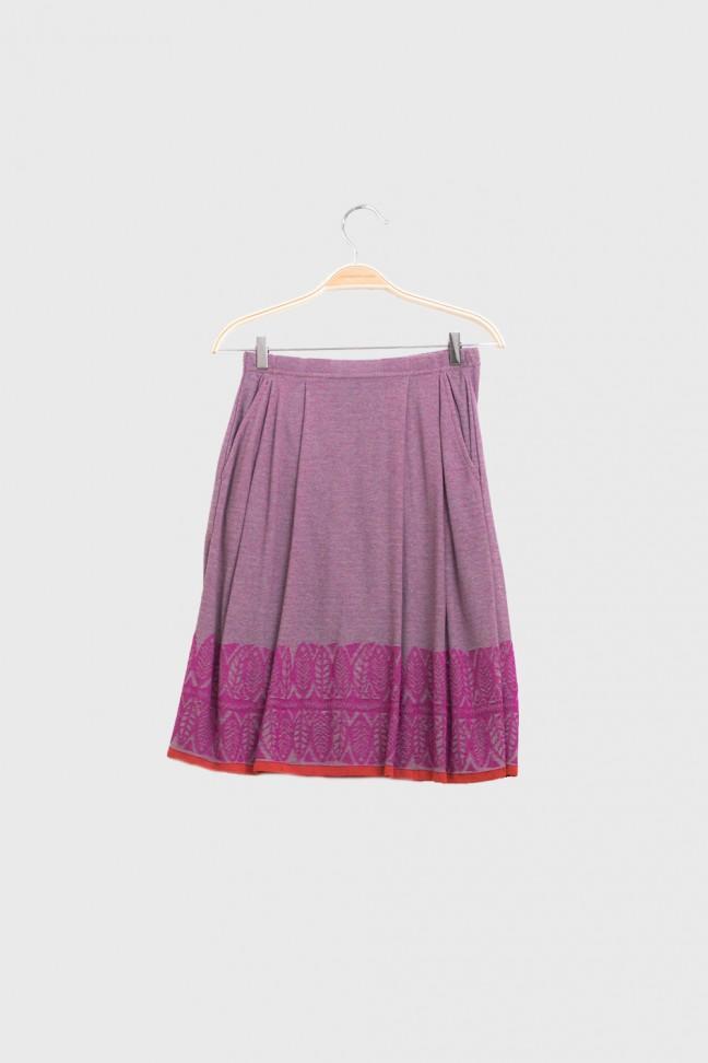 Skirt FOGLIA Pink