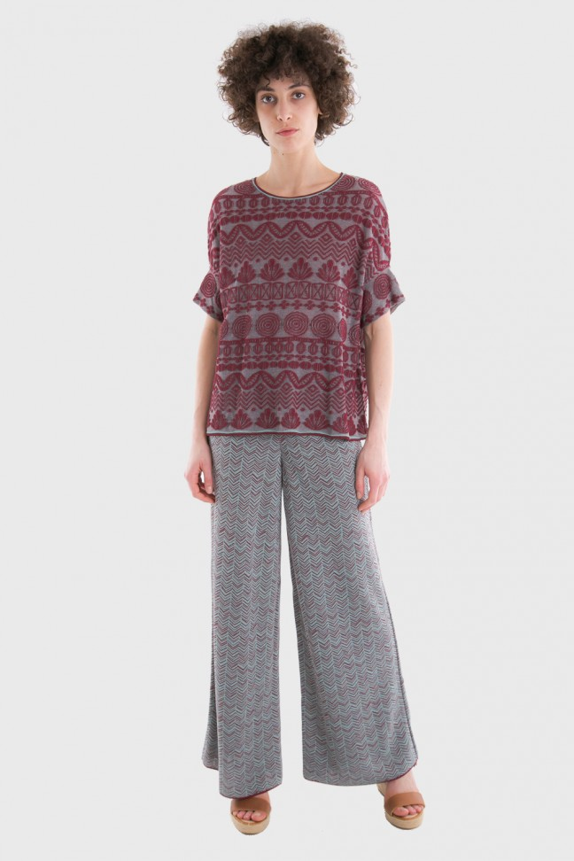 Pants RENEE Burgundy