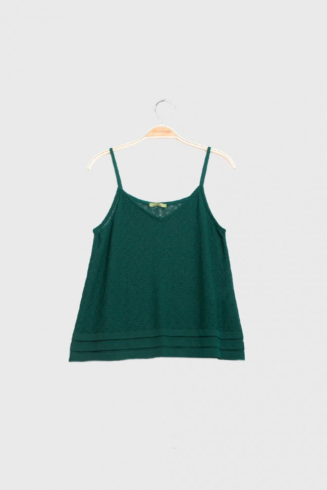 Cami top FOLKS Green