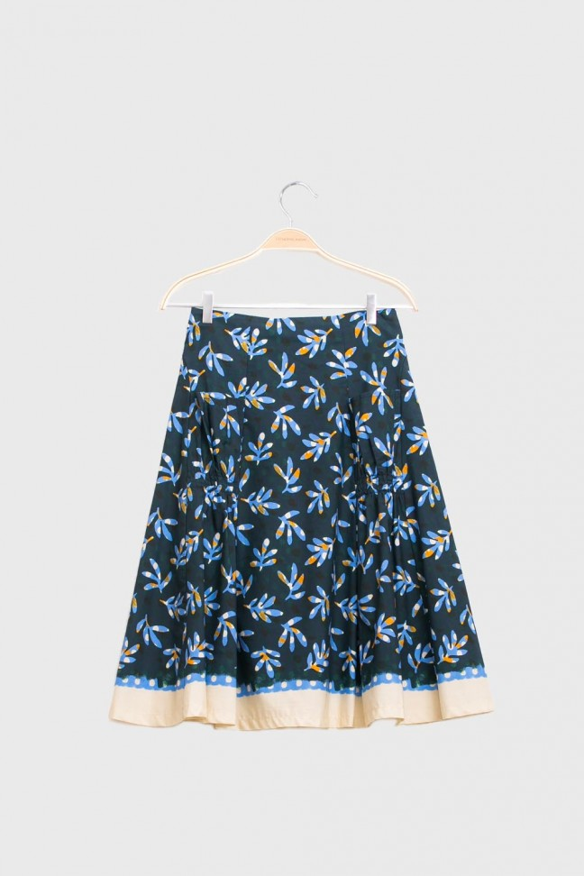 Skirt STAMP Blue