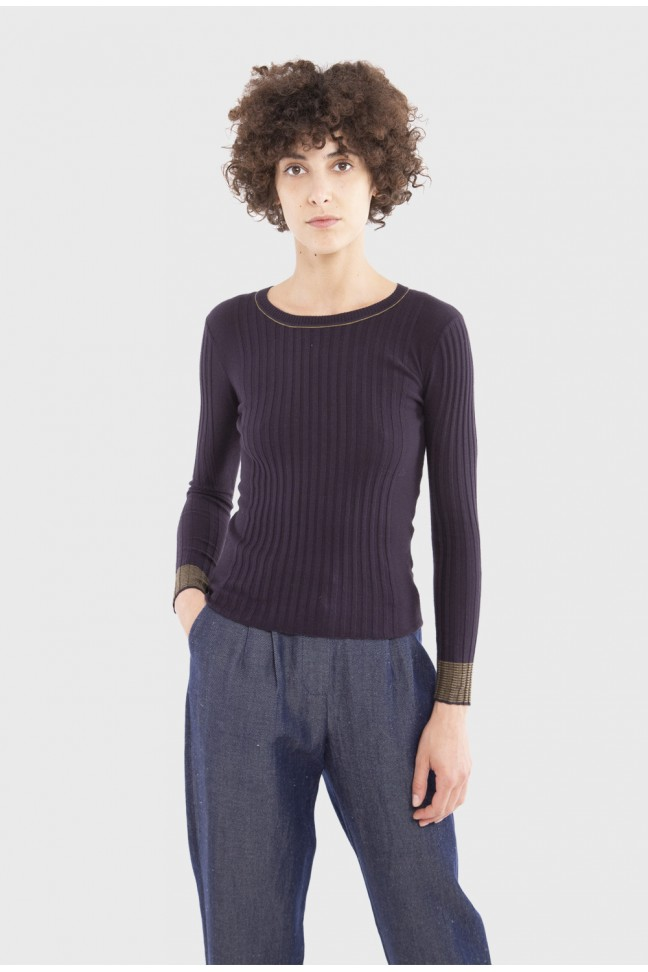 Sweater DAILY Purple