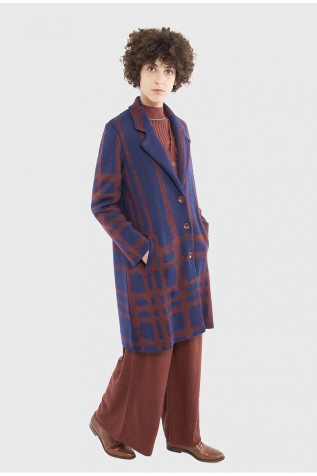 Coat DUNCAN Blue