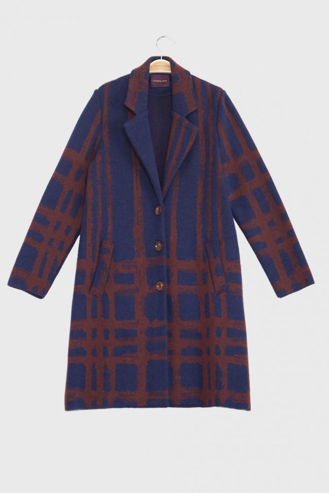 Manteau DUNCAN Bleu