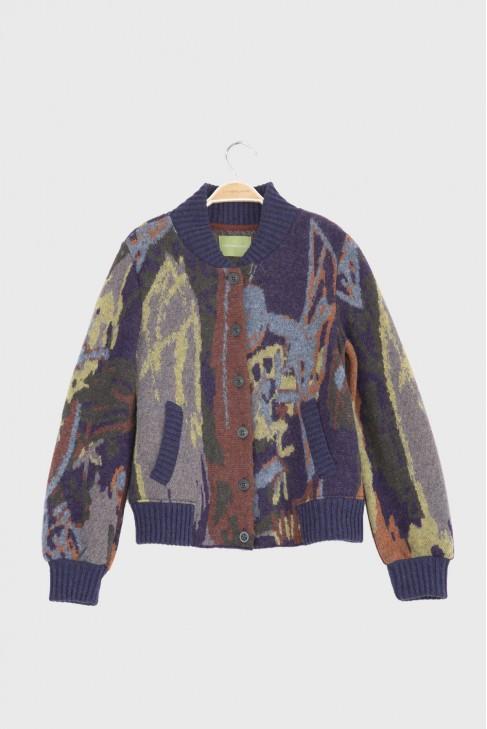 Bomber jacket ELLIOTT Blue