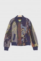 Bomber jacket ELLIOTT Blue