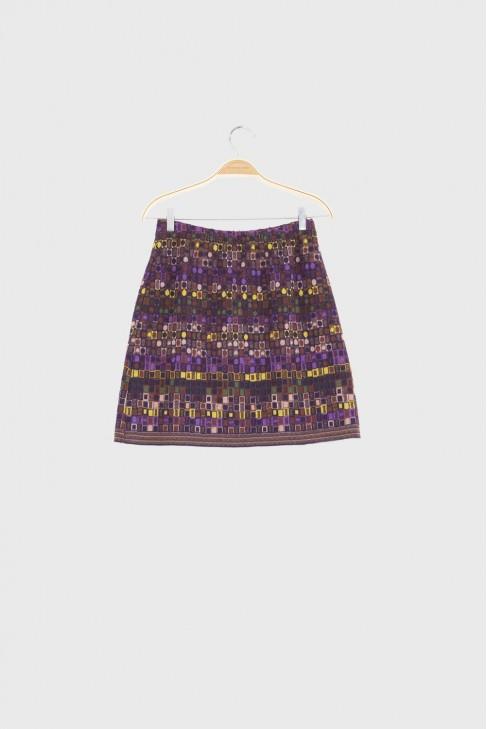 Skirt UTOPIA Burgundy