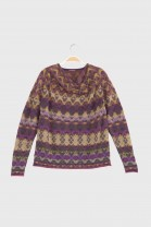 Sweater DEDALE Burgundy