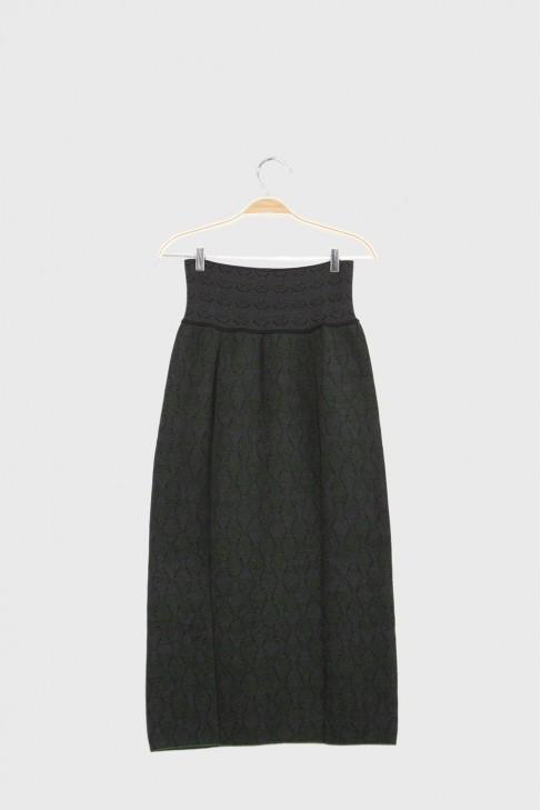 Long skirt PRATER Green