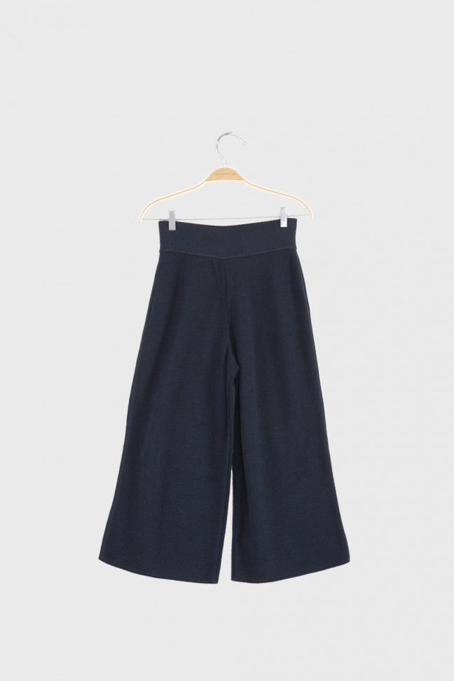 Cropped pants OMNIS Blue