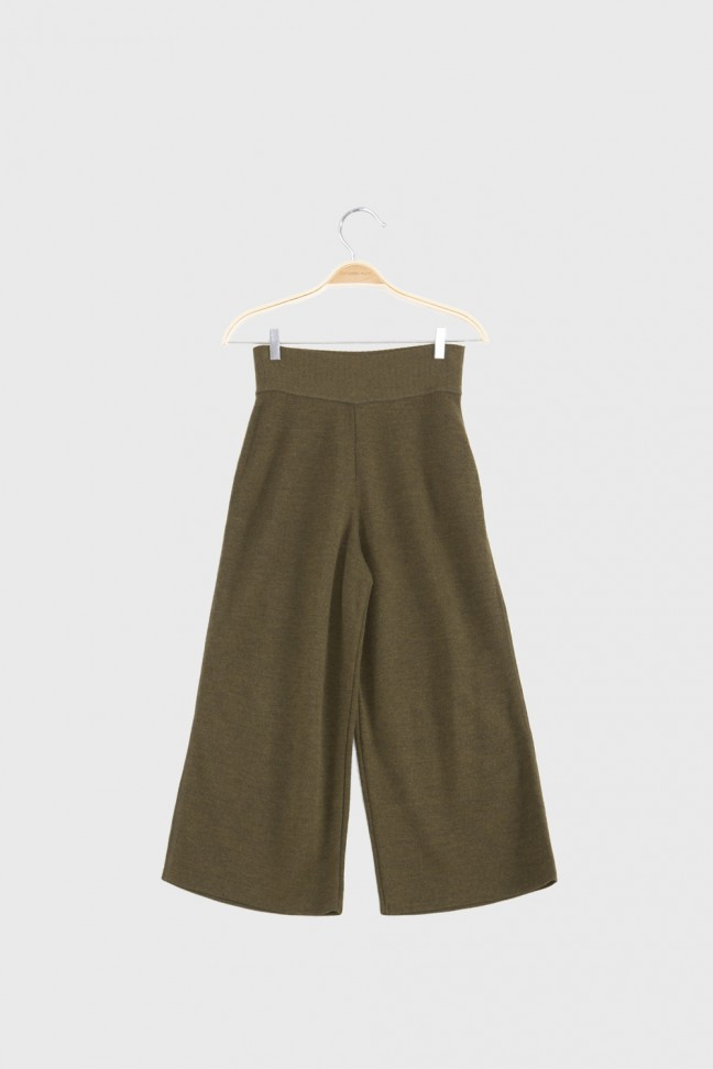 Cropped pants OMNIS Khaki