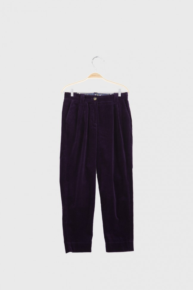 Carrot pants HANNAH Purple