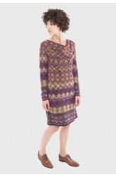 Dress DEDALE Burgundy