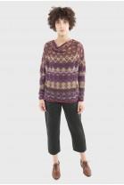 Sweater DEDALE Burgundy