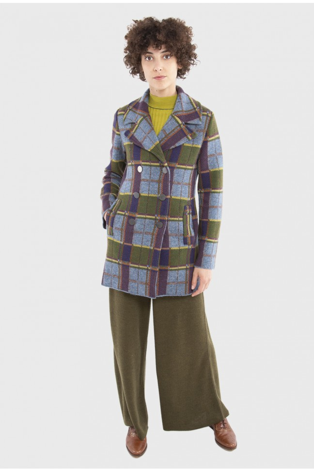 Reefer coat SNOB Blue