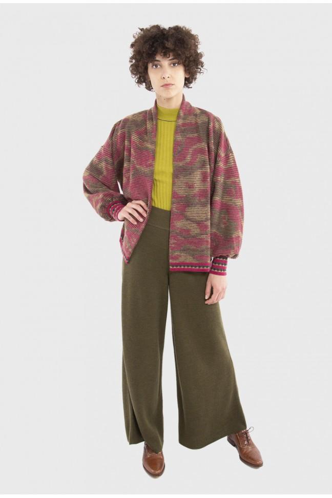 Pantalon large OMNIS Kaki
