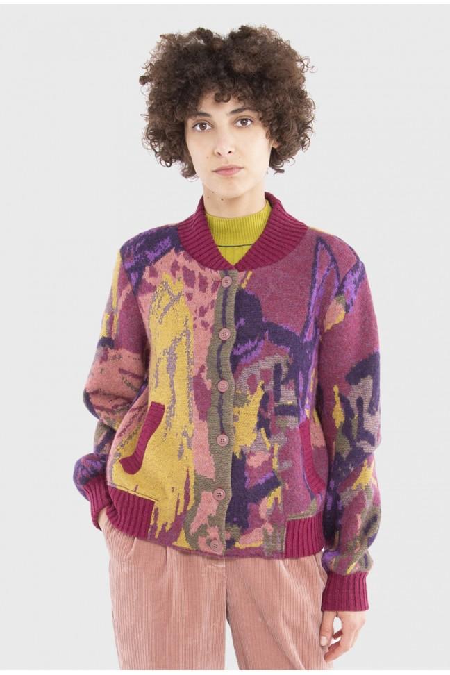 Bomber jacket ELLIOTT Pink