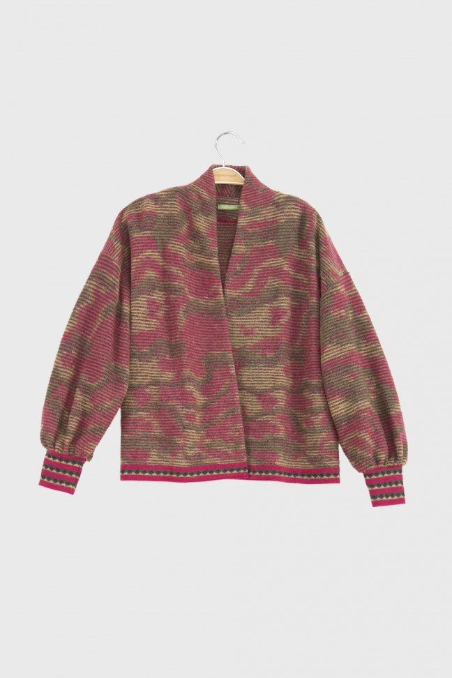 Open Cardigan ADELE Red
