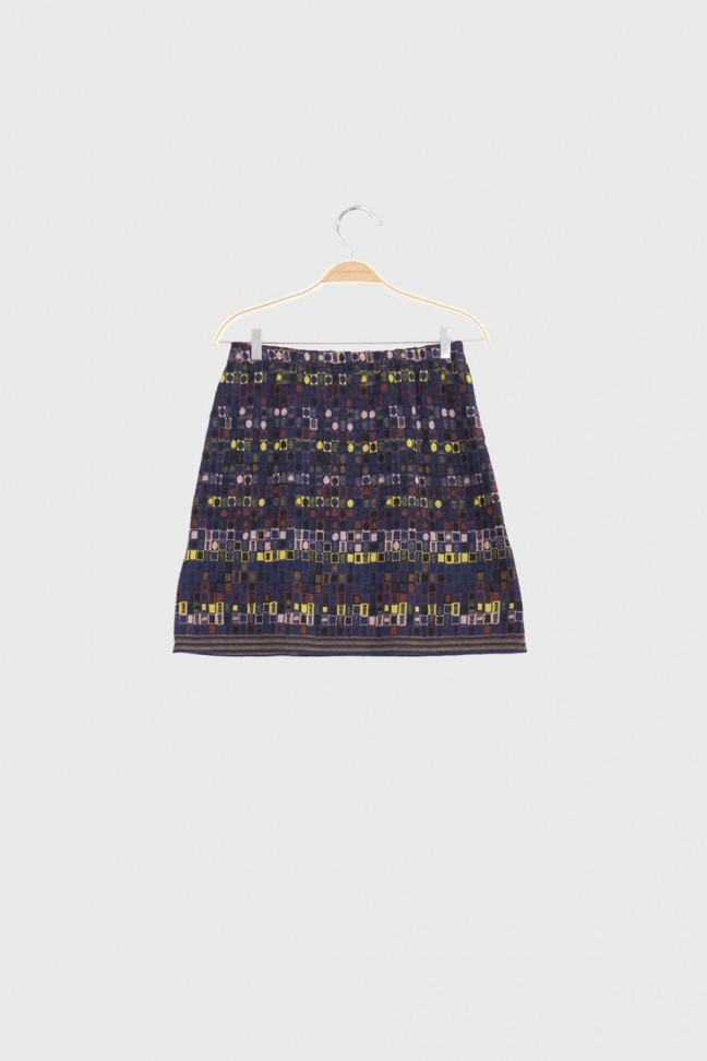 Skirt UTOPIA Blue