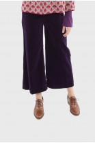 Cropped pants HANNAH Purple