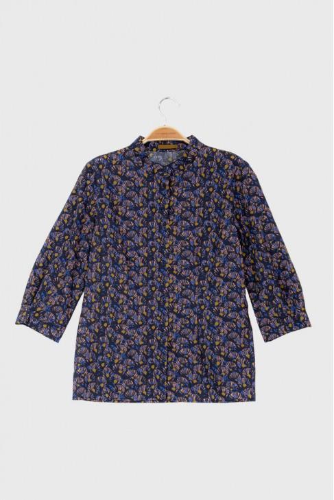 Shirt ABANICO Blue