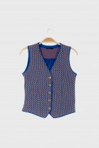 Buttons Top DOMINO Blue