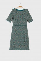 Dress DOMINO Petrol