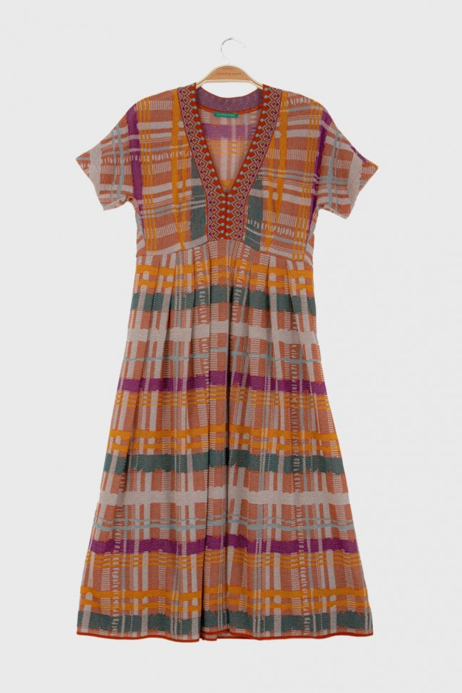 Dress KONTIKI Ochre