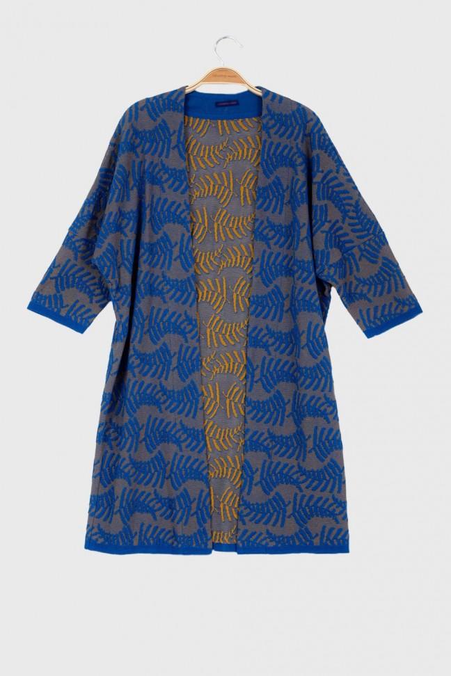Open coat ROTANG Blue