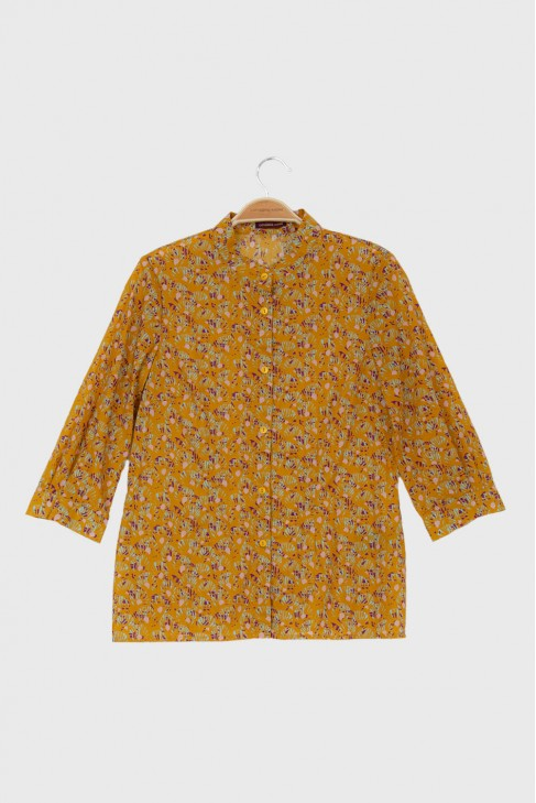Shirt ABANICO Ochre