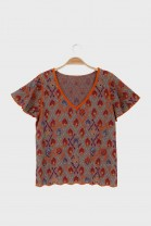 Butterfly tshirt AWAY Coral