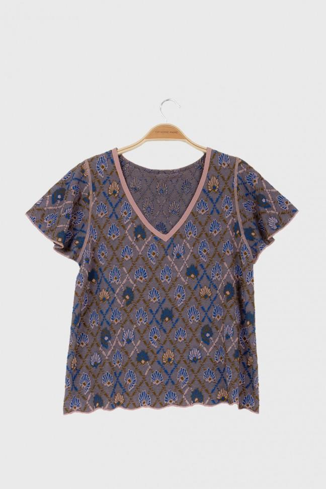 Tshirt papillon AWAY Bleu