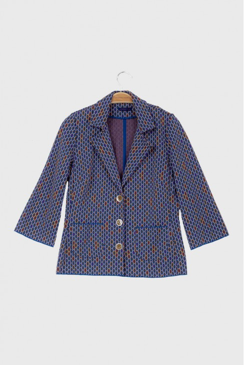 Jacket DOMINO Blue