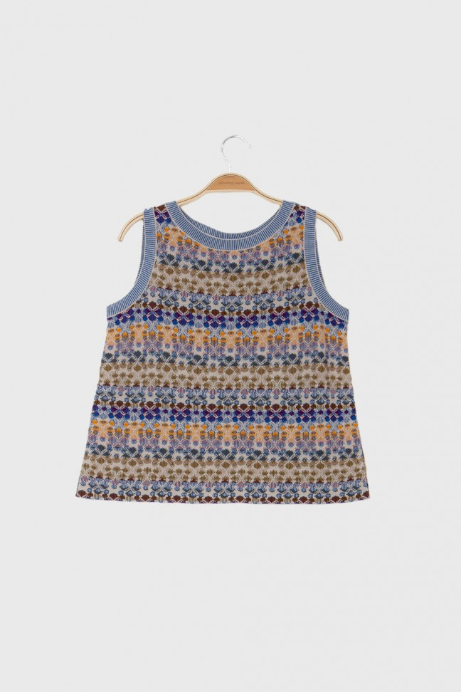 Tank Top ECHO Blue