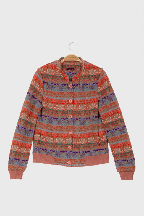 Bomber jacket ECHO Coral