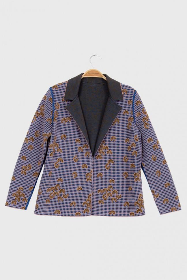 Jacket KIMONO Blue