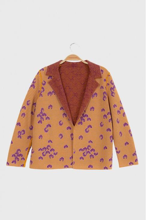 Jacket KIMONO Ochre