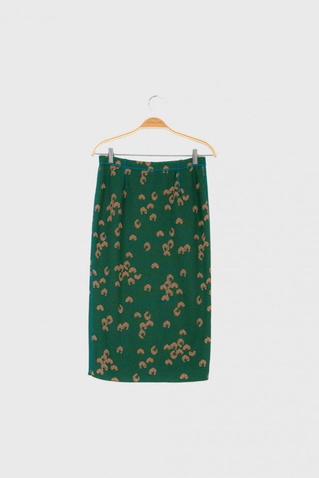 Skirt KIMONO Green