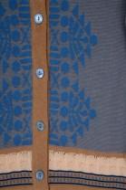 Cardigan MAHJONG Bleu