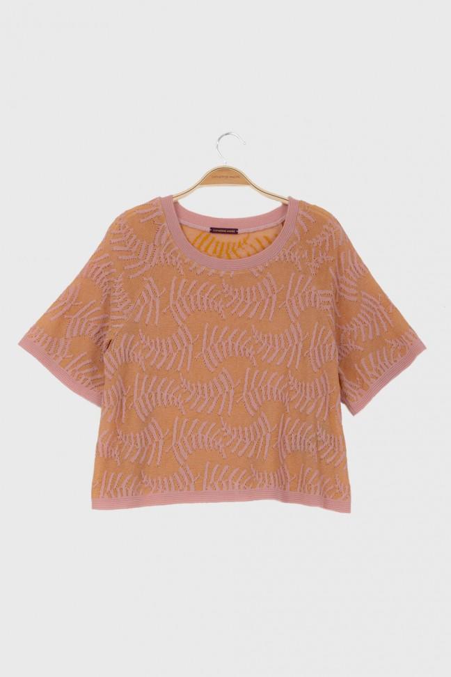 Large tshirt ROTANG Pink