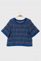 Large tshirt ROTANG Blue
